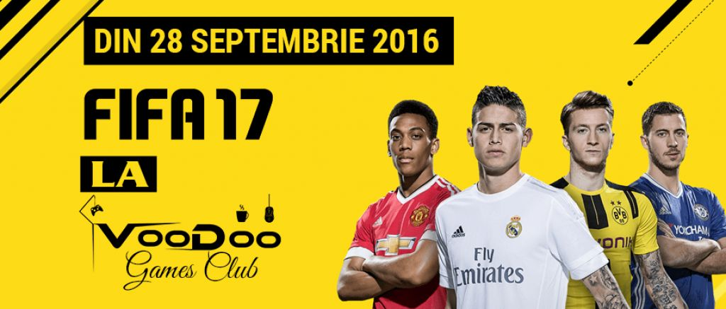 FIFA17 la Voodoo Games Club