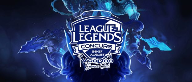 CONCURS LEAGUE OF LEGENDS - august 2017